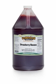 Strawberry-Banana Shaved Ice and Snow Cone Syrup � Gallon