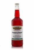 Strawberry Daiquiri Shaved Ice and Snow Cone Syrup - Quart