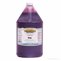 Sugar Free Grape Shaved Ice and Snow Cone Syrup � Gallon