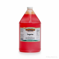 Tangerine Shaved Ice and Snow Cone Syrup � Gallon