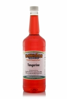 Tangerine Shaved Ice and Snow Cone Syrup - Quart