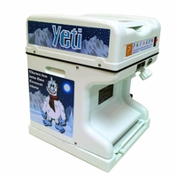The Yeti Cube Shaved Ice Machine