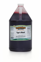 Tiger�s Blood Shaved Ice and Snow Cone Syrup � Gallon