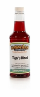 Tiger's Blood Shaved Ice and Snow Cone Syrup - Pint