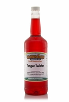 Tongue Twister Shaved Ice and Snow Cone Syrup - Quart