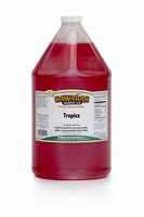 Tropics Shaved Ice and Snow Cone Syrup � Gallon