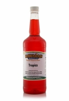 Tropics  Shaved Ice and Snow Cone Syrup - Quart