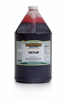Tutti Fruiti Shaved Ice and Snow Cone Syrup � Gallon