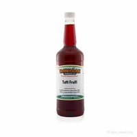 Tutti Fruiti Shaved Ice and Snow Cone Syrup - Quart