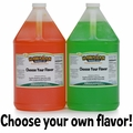 Two Gallons of Snow Cone Syrup