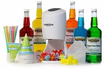 Ultimate Shaved Ice Package with Electric Shaved Ice Machine