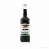 Vanilla Cola Shaved Ice and Snow Cone Syrup - Quart