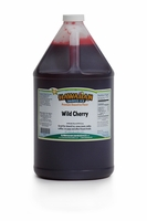 Wild Cherry Shaved Ice and Snow Cone Syrup � Gallon