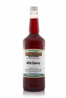 Wild Cherry Shaved Ice and Snow Cone Syrup - Quart
