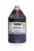 Wild Strawberry Shaved Ice and Snow Cone Syrup � Gallon