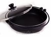 Sukiyaki Pot H-8027 Pearl Brand with Glass Cover 26 cm