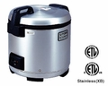 Tiger JNO-A36U Stainless Steel Electronic Rice Cooker Warmer (20 cups)