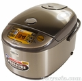 Zojirushi NP-HTC18 Induction Heating Pressure Rice Cooker and Warmer 10 cups - LAST ONE
