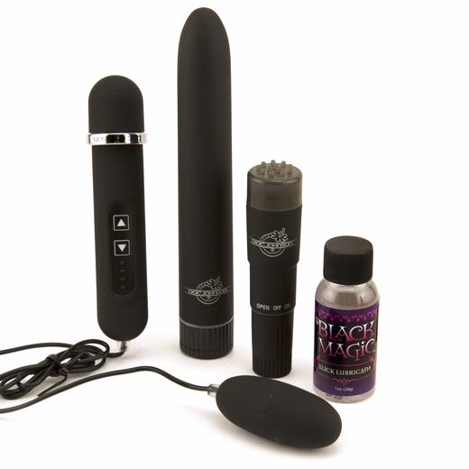 Black Magic Pleasure Kit - Try 3 Intense Vibrators