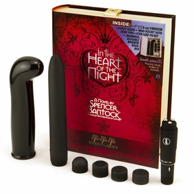 BookSmart Vibrator Kit - Sex Toys Hidden In A Book