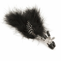 Feather Nipple Clamps - Sexy, Adjustable Clamps