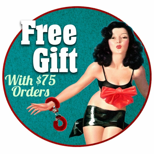 Free Gift With A $75 Vibrator Order