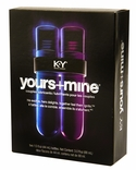 KY Yours + Mine Couples Lubricants