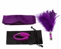 Lelo Indulge Me - Luxury Couples' Vibrator, Blindfold & Teaser