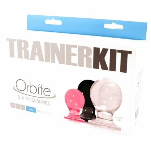 Orbit Anal Sex Trainers - 3 Butt Plugs
