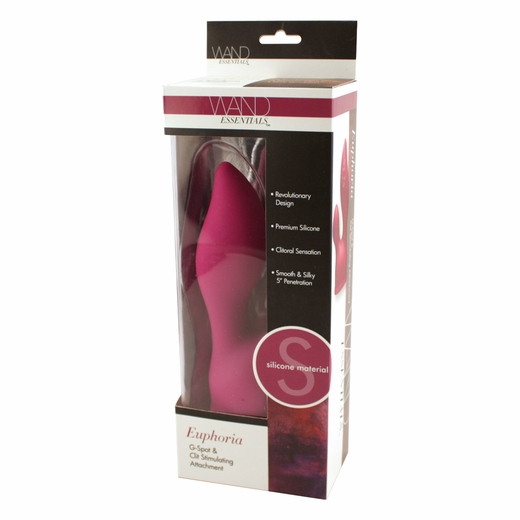 Silicone Clit and G-Spot Wand Attachment
