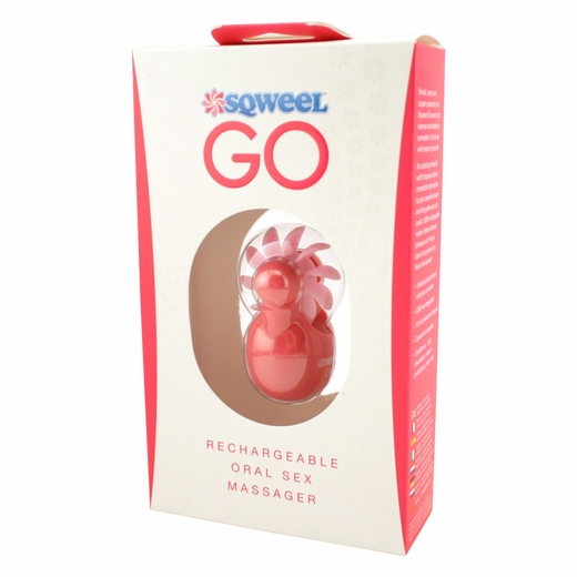 Sqweel Go - Rechargeable Oral Sex Simulator