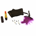 Tease and Tantalize Kit - Vibrator, Nipple Jewelry & Feather
