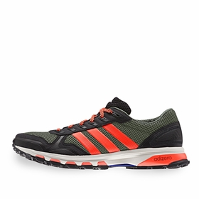 Adidas Adizero XT 5 Shoe in Green/Red/White