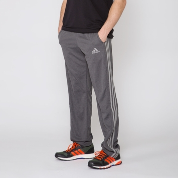 Adidas Climacore 3-Stripe Pant in Black/Charcoal Stripe