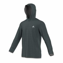 Adidas Climacore Hoodie in Black/Charcoal Grey