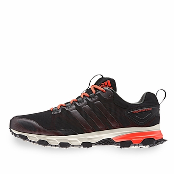 Adidas Response Trail 21 M Shoe in Black/Red/Base Green