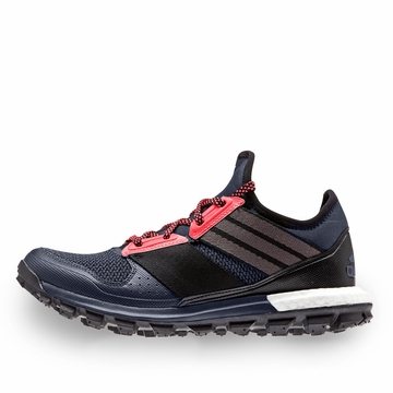 Adidas Response Trail Boost W Shoe ( Grey/Black/Red )
