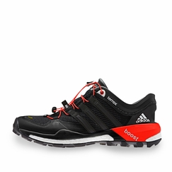 Adidas Terrex Boost Shoe in Black/White/Red