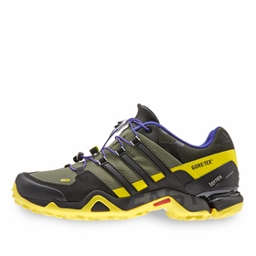 Adidas Terrex Fast R GTX Shoe in Base Green/Black