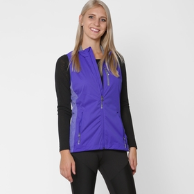 Adidas Xperior Performance Vest in Night Flash/Solar Red