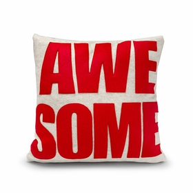 Eco Alexandra Ferguson AWESOME Pillow