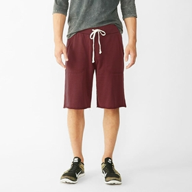 Alternative Apparel Victory Short in Black Cherry