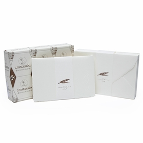 Amalfi Flat Cards with Envelopes (50 ct.) (4.5 x 6.75)