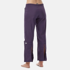 Be Present Agility Pant (back slits) in Eggplant