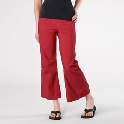 Be Present Agility Pant (back slits) in Red