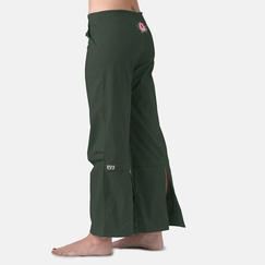 Be Present Lotus Agility Pant in Hunter w/ Pink Lotus