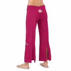 Be Present Lotus Agility Pant in Raspberry w/ Pink Lotus