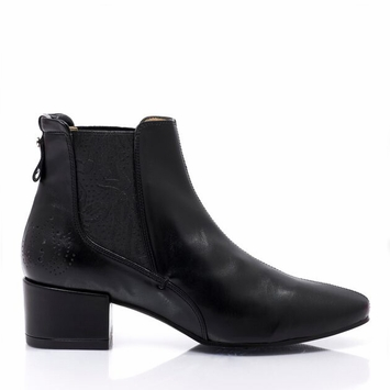 Bourgeois Boheme Grace Ankle Boot in Black