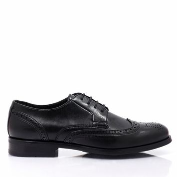 Bourgeois Boheme Owen Shoe in Black Matte