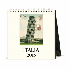Cavallini 2015 Desk Calendars (Places) (6 x 6.5) in Italia